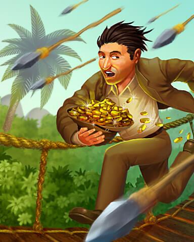 Treasure Chase Getaway Badge