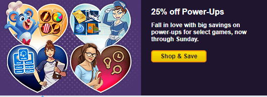 Pogo 2019 Valentine's Day Power-Up Sale