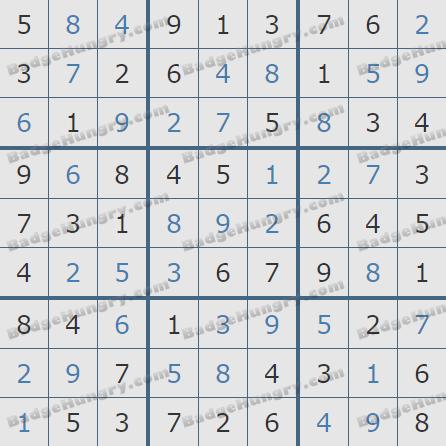 Pogo Daily Sudoku Solutions: January 12, 2019