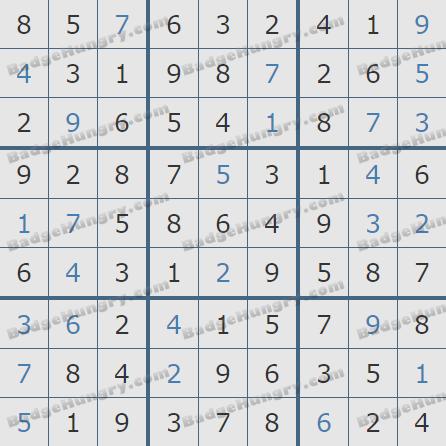 Pogo Daily Sudoku Solutions: January 14, 2019
