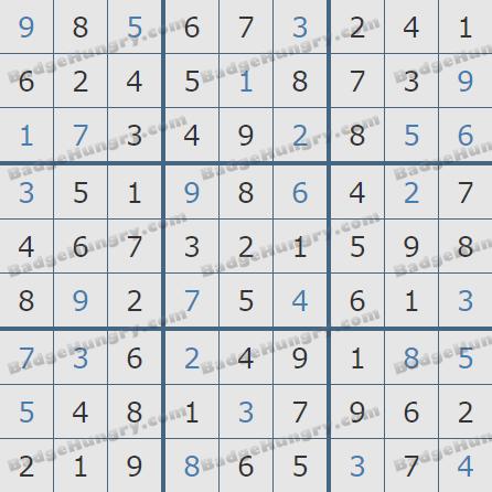 Pogo Daily Sudoku Solutions: January 15, 2019