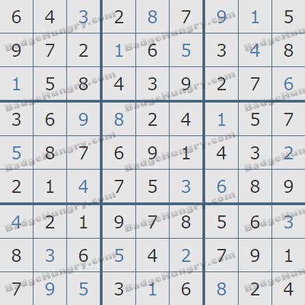Pogo Daily Sudoku Solutions: January 17, 2019