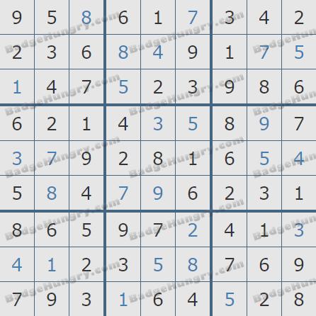 Pogo Daily Sudoku Solutions: January 19, 2019
