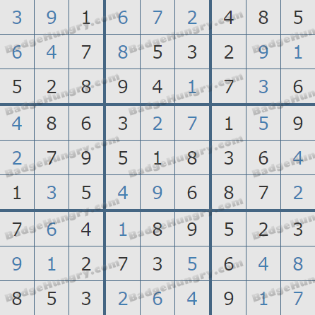 Pogo Daily Sudoku Solutions: January 21, 2019