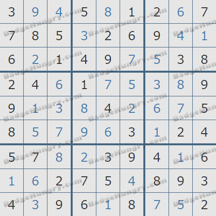 Pogo Daily Sudoku Solutions: January 29, 2019