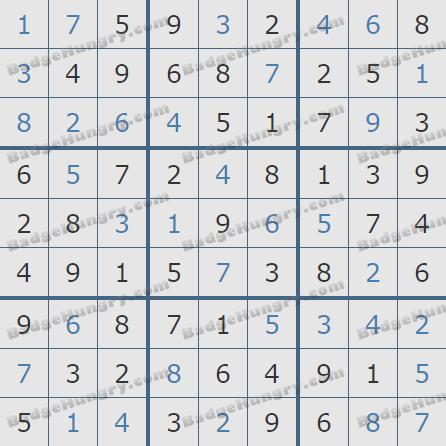 Pogo Daily Sudoku Solutions: January 30, 2019