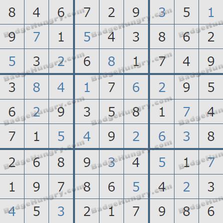 Pogo Daily Sudoku Solutions: January 31, 2019