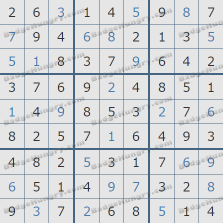 Pogo Daily Sudoku Solutions: February 5, 2019