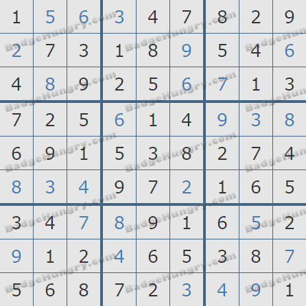 Pogo Daily Sudoku Solutions: February 7, 2019