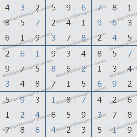 Pogo Daily Sudoku Solutions: February 10, 2019