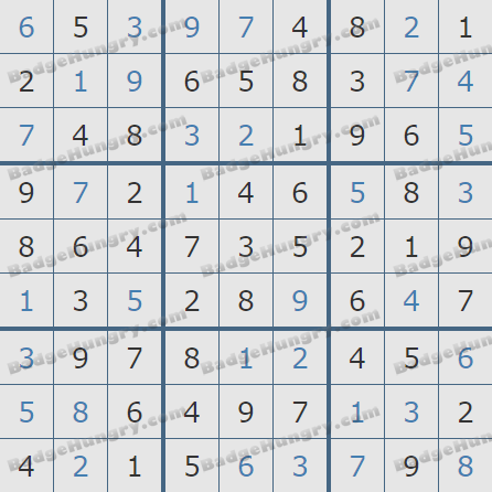 Pogo Daily Sudoku Solutions: February 12, 2019