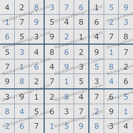 Pogo Daily Sudoku Solutions: February 14, 2019