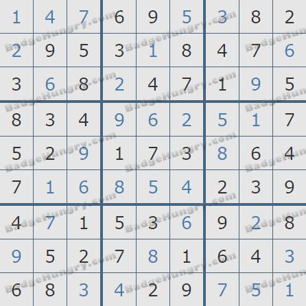 Pogo Daily Sudoku Solutions: February 16, 2019