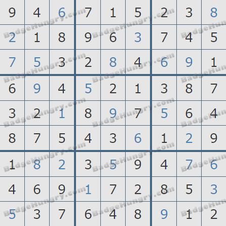 Pogo Daily Sudoku Solutions: February 17, 2019