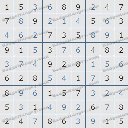 Pogo Daily Sudoku Solutions: February 20, 2019