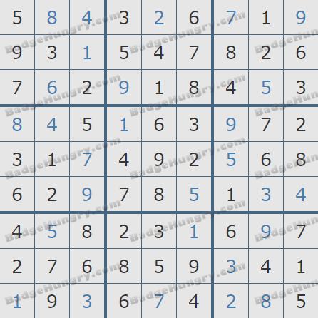 Pogo Daily Sudoku Solutions: February 28, 2019