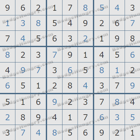 Pogo Daily Sudoku Solutions: March 5, 2019