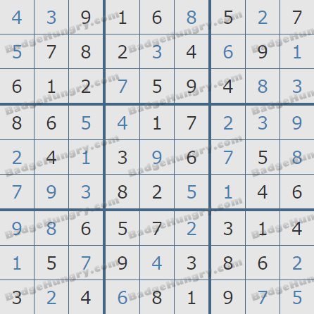 Pogo Daily Sudoku Solutions: March 7, 2019