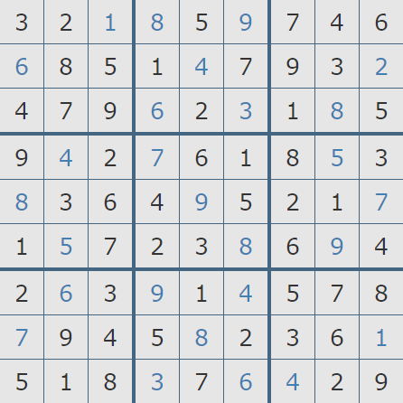 Pogo Daily Sudoku Solutions: March 12, 2019