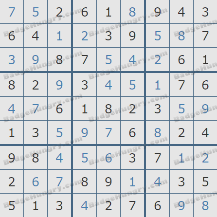 Pogo Daily Sudoku Solutions: March 13, 2019