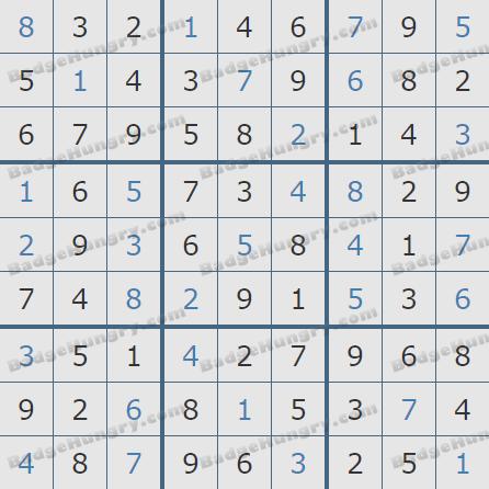 Pogo Daily Sudoku Solution - March 14, 2019