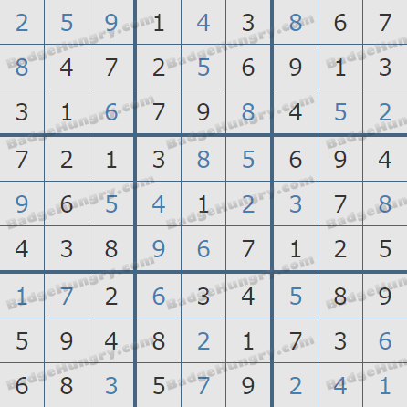 Pogo Daily Sudoku Solutions: March 15, 2019