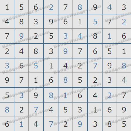 Pogo Daily Sudoku Solutions: March 17, 2019