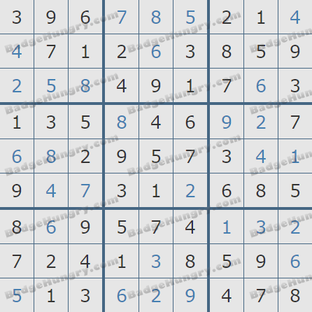 Pogo Daily Sudoku Solutions: March 20, 2019