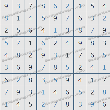 Pogo Daily Sudoku Solutions: March 21, 2019