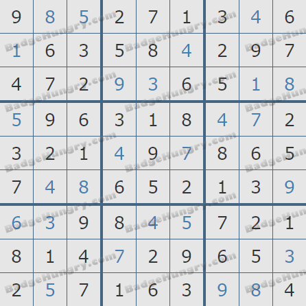 Pogo Daily Sudoku Solutions: March 22, 2019
