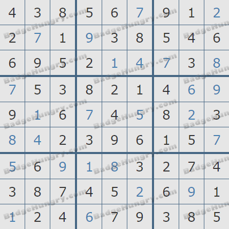 Pogo Daily Sudoku Solutions: March 23, 2019