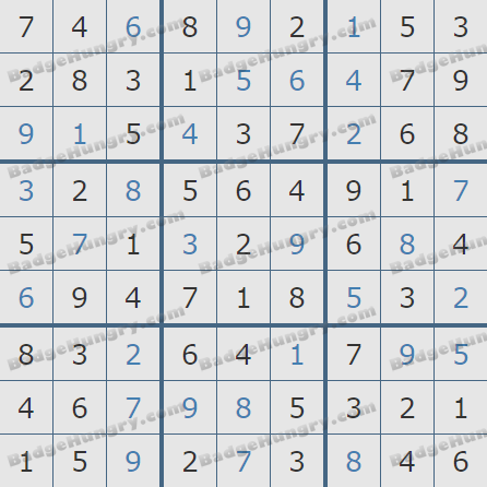 Pogo Daily Sudoku Solutions: March 25, 2019