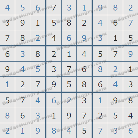 Pogo Daily Sudoku Solutions: March 27, 2019