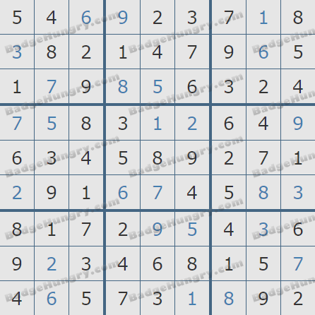 Pogo Daily Sudoku Solutions: March 28, 2019