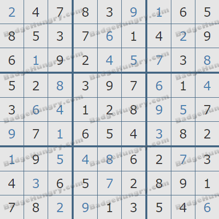 Pogo Daily Sudoku Solutions: March 29, 2019