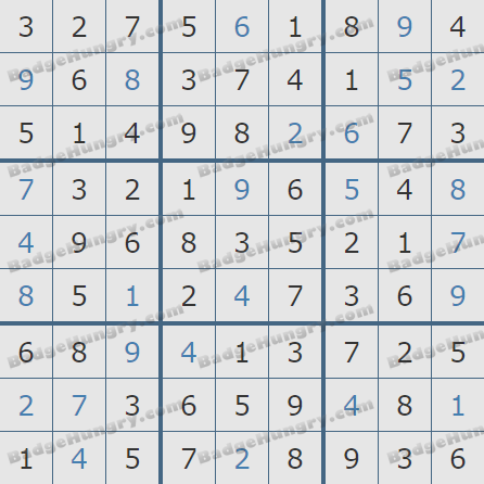 Pogo Daily Sudoku Solutions: March 30, 2019