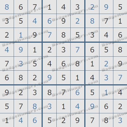 Pogo Daily Sudoku Solutions: March 31, 2019
