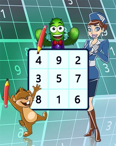 Pogo Daily Sudoku Mix-n-Match Badge