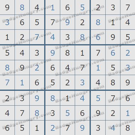 Pogo Daily Sudoku Solutions: April 2, 2019