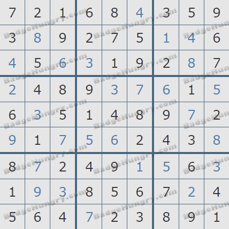 Pogo Daily Sudoku Solutions: April 4, 2019