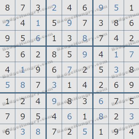 Pogo Daily Sudoku Solutions: April 5, 2019