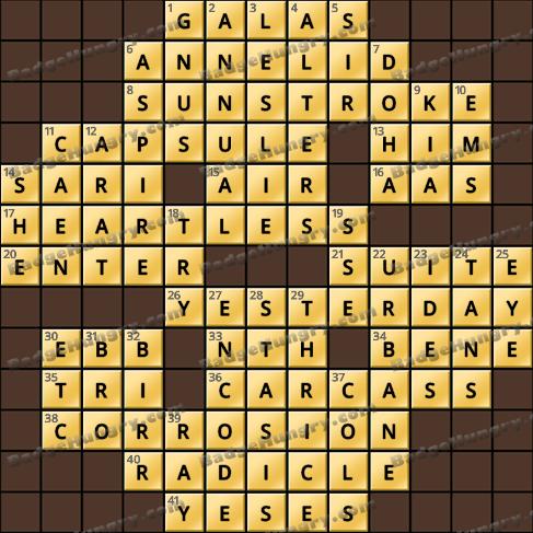 Crossword Cove HD Solution: April 5, 2019