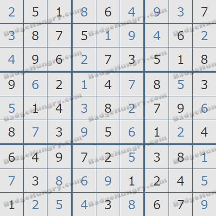 Pogo Daily Sudoku Solutions: April 11, 2019