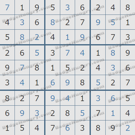 Pogo Daily Sudoku Solutions: April 12, 2019