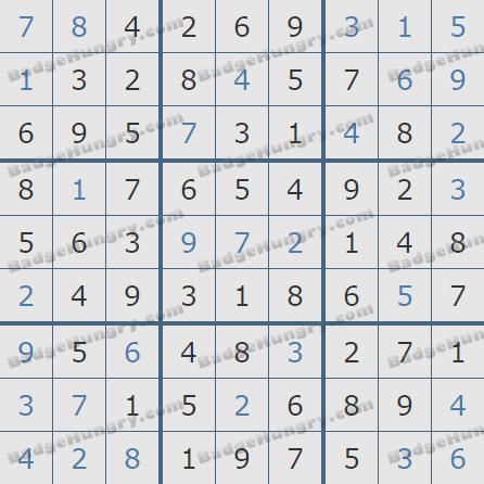 Pogo Daily Sudoku Solutions: April 14, 2019