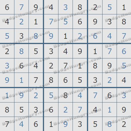 Pogo Daily Sudoku Solutions: April 18, 2019