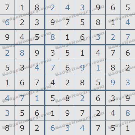 Pogo Daily Sudoku Solutions: April 19, 2019
