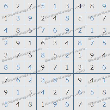 Pogo Daily Sudoku Solutions: April 20, 2019