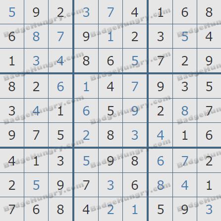 Pogo Daily Sudoku Solutions: April 21, 2019