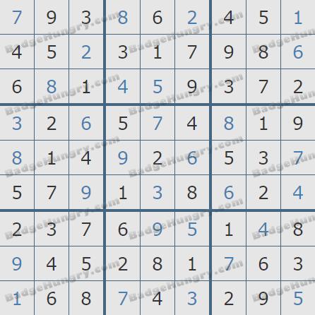 Pogo Daily Sudoku Solutions: April 24, 2019